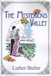 Cover of: The Mysterious Valley | Luther Butler