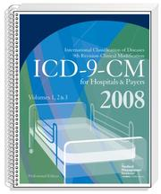 Cover of: ICD-9-CM 2008 Volumes 1, 2, & 3, Professional for Hospitals and Payers | The Medical Management Institute; a contexo media company