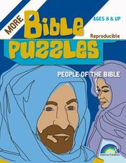 Cover of: Bible Puzzles | Margie Harding