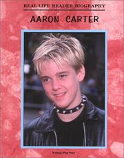 Cover of: Aaron Carter (Real-Life Reader Biography)