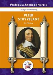 Cover of: Peter Stuyvesant (Profiles in American History) (Profiles in American History)