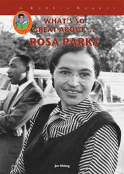 Cover of: Rosa Parks | Jim Whiting