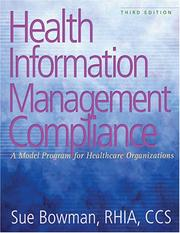 Cover of: Health Information Management Compliance