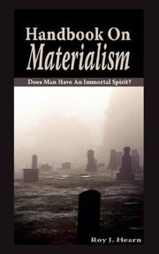 Cover of: Handbook On Materialism | Roy, J Hearn