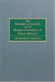 Cover of: The History of Lloyd