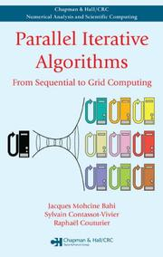 Cover of: Parallel Iterative Algorithms | Jacques M. Bahi