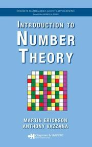 Cover of: Introduction to number theory