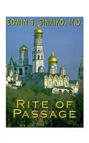 Cover of: Rite of Passage | Edwin S. Sinaiko