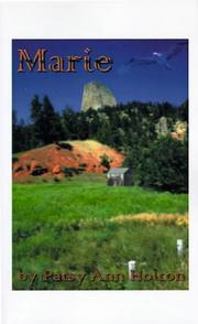 Cover of: Marie | Patsy Ann Holton