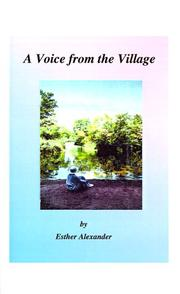Cover of: A Voice from the Village