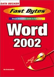 Cover of: Word 2002 (Fast Bytes)