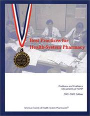 Best Practices for Health-System Pharmacy by American Society of Health-System Pharmacists