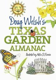 Cover of: Doug Welsh's Texas Garden Almanac (Month-by-Month Guide)