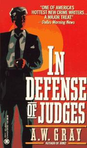 Cover of: In Defense of Judges