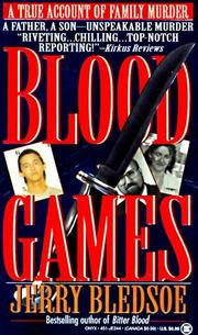Cover of: Blood Games | Jerry Bledsoe