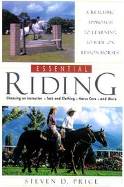 Cover of: Essential Riding