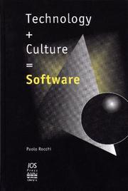 Technology + Culture = Software