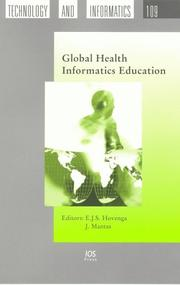 Cover of: Global Health Informatics Education (Studies in Health Technology and Informatics) | E Hovenga