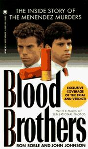 Cover of: Blood brothers | Ron Soble