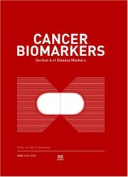 Cover of: Toxicity Biomarkers | S. Srivastava