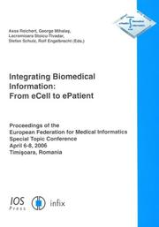 Cover of: Integrating Biomedical Information |