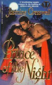 Cover of: Prince of the Night (Dreamspun) | Jasmine Cresswell