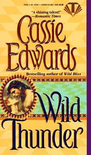 Cover of: Wild Thunder | Cassie Edwards