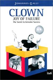 Cover of: Clown-Joy of Failure