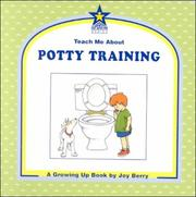 Cover of: Teach me about potty training