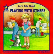 Cover of: Let's Talk About Playing With Others
