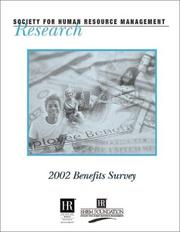 Cover of: 2002 Benefits Survey