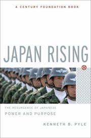 Cover of: Japan Rising | Kenneth B. Pyle
