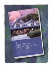 Cover of: The Christian Bed & Breakfast 2001-2002 | Ellyn Sanna