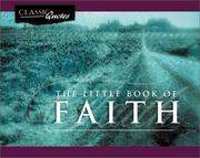 Cover of: The Little Book of Faith