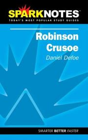 Cover of: Spark Notes Robinson Crusoe | Daniel Defoe