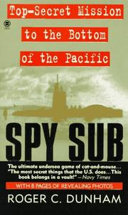 Cover of: Spy Sub | Roger C. Dunham