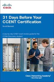 Cover of: 31 Days Before Your CCENT Certification
