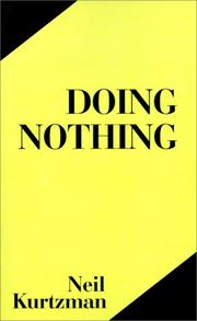 Cover of: Doing Nothing | Neil Kurtzman