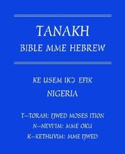 Cover of: Tanakh Bible Mme Hebrew | John Umoetteh