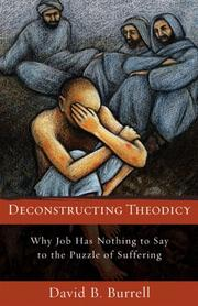 Cover of: Deconstructing Theodicy | David B. Burrell