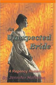 Cover of: An Unexpected Bride | Jennifer Hoffman