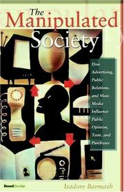 Cover of: The Manipulated Society