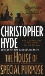 Cover of: The house of special purpose | Christopher Hyde