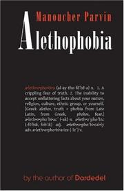 Cover of: Alethophobia