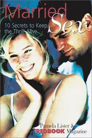Cover of: Redbook Married Sex | Pamela Lister