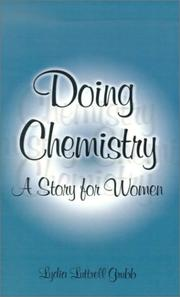 Cover of: Doing Chemistry | Lydia Luttrell Grubb