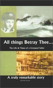 Cover of: All Things Betray Thee