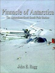 Cover of: Pinnacle of Antarctica