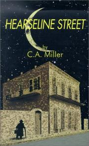 Cover of: Hearseline Street | Carmel A. Miller