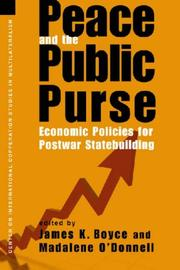 Cover of: Peace and the Public Purse |